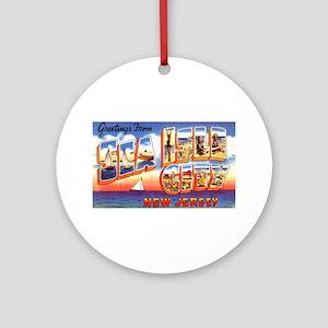 Sea Isle City New Jersey Ornament (Round)