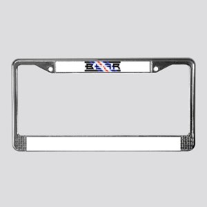 leather pride bear License Plate Frame