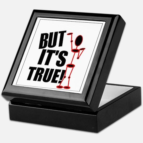 But Its True 5 Keepsake Box