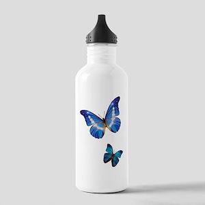 Blue Morpho Butterflie Stainless Water Bottle 1.0L