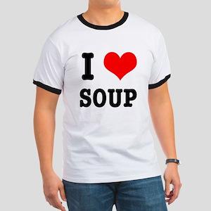 I Heart (Love) Soup Ringer T