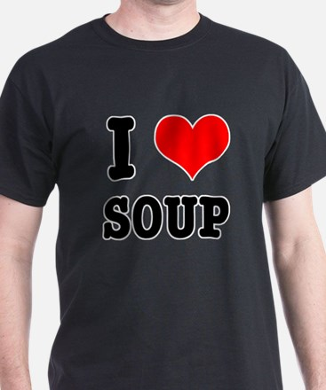 I Heart (Love) Soup T-Shirt