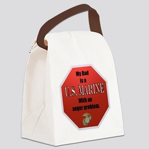 USMC Daughters Canvas Lunch Bag