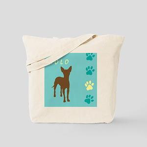 xoloitzcuintli paws Tote Bag
