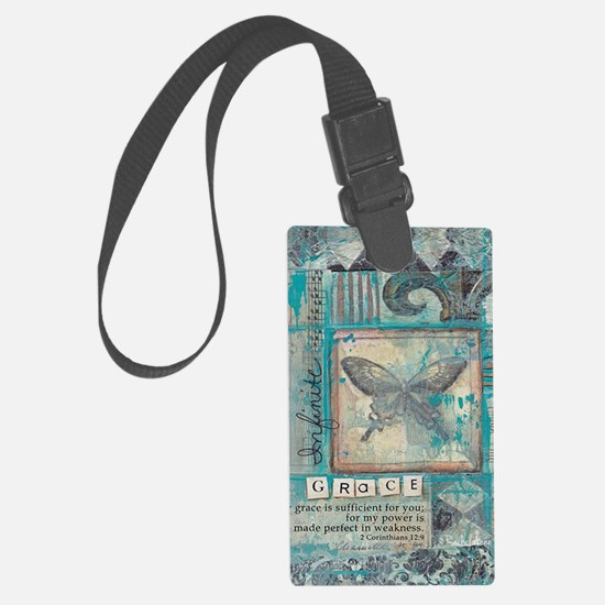 Infinite Grace Luggage Tag