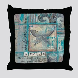 Infinite Grace Throw Pillow