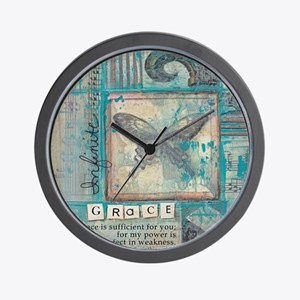 Infinite Grace Wall Clock