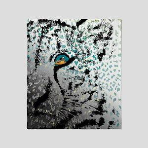 elephant in tiger's eye Throw Blanket
