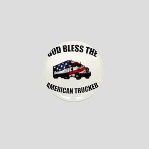 American Trucker Mini Button
