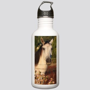 The White Stallion Stainless Water Bottle 1.0L