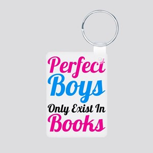 Perfect Boys Only Exist In Aluminum Photo Keychain
