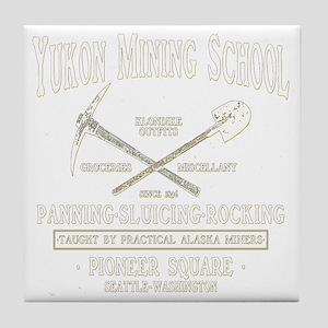 Yukon Mining School Tile Coaster