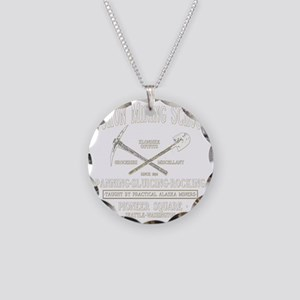 Yukon Mining School Necklace Circle Charm