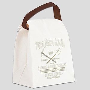 Yukon Mining School Canvas Lunch Bag