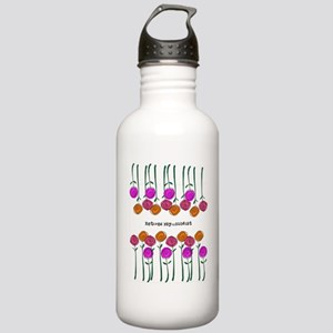 retired Psychologist Stainless Water Bottle 1.0L