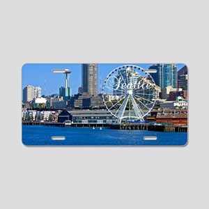 Seattle_18.8x12.6_SeattleWa Aluminum License Plate