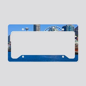 Seattle_18.8x12.6_SeattleWate License Plate Holder