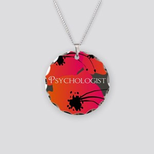 psychologist blanket Necklace Circle Charm