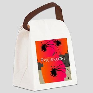 psychologist blanket Canvas Lunch Bag