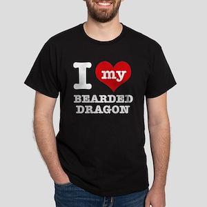 I love my Bearded Dragon Dark T-Shirt