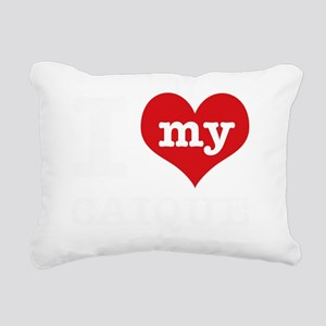 I love my Caique Rectangular Canvas Pillow