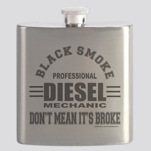 DIESEL MECHANIC T-SHIRTS AND GIFTS Flask