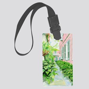 Courtyard Large Luggage Tag