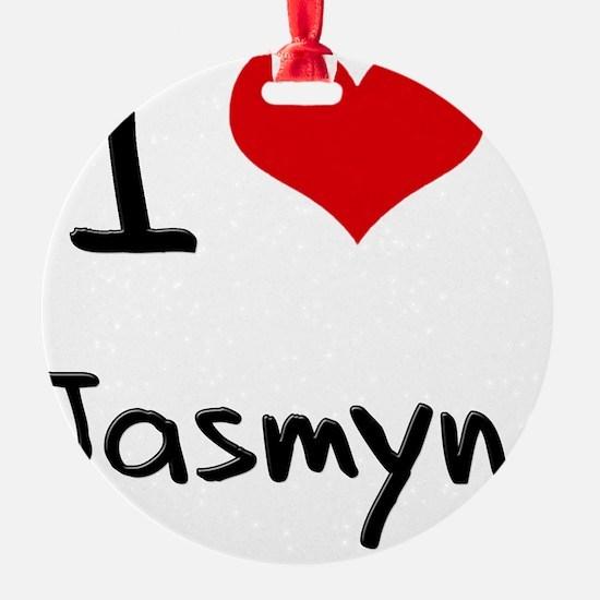 I Love Jasmyn Ornament