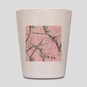 Realtree Pink Camo Shot Glass