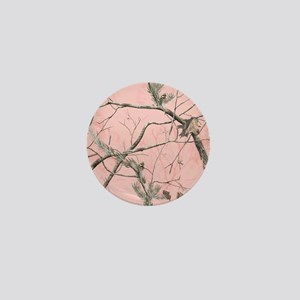Realtree Pink Camo Mini Button