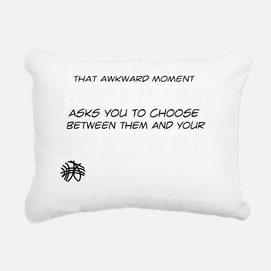 Sokoke Cat designs Rectangular Canvas Pillow