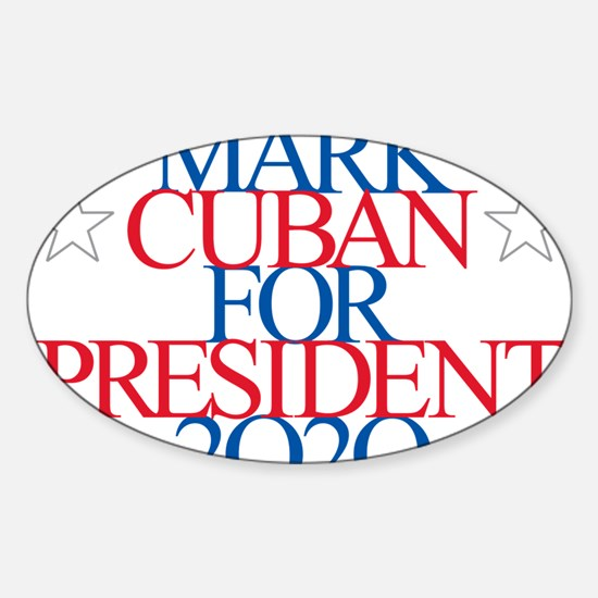 Mark Cuban for President 2020 Decal