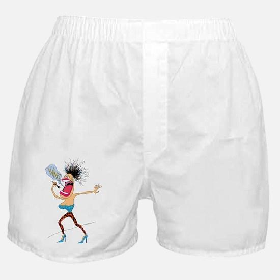 Diva Rocker Boxer Shorts