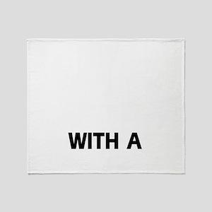 Pbgv dog breed designs Throw Blanket