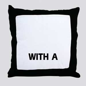 Pbgv dog breed designs Throw Pillow