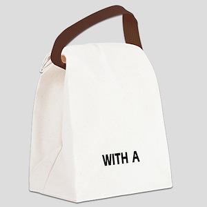 Pbgv dog breed designs Canvas Lunch Bag