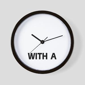 Smooth Fox Terrier dog designs Wall Clock