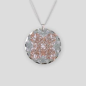 Celtic O Necklace Circle Charm