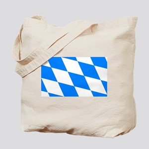 Bavarian flag (oktoberfest ) Tote Bag