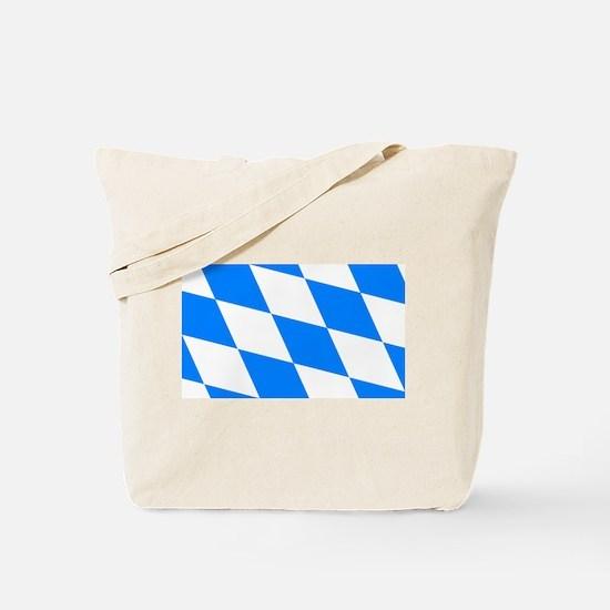 Bavarian flag (oktoberfest ) Tote Bag