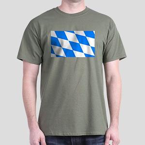 Bavarian flag (oktoberfest ) Dark T-Shirt