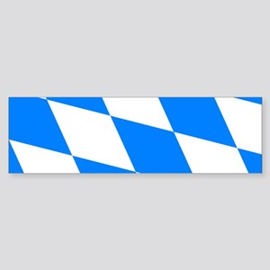 Bavarian flag (oktoberfest ) Bumper Sticker