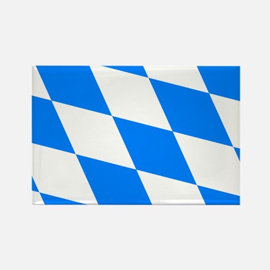 Bavarian flag (oktoberfest ) Rectangle Magnet