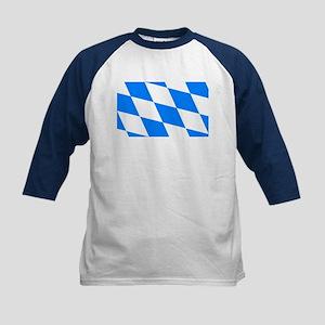 Bavarian flag (oktoberfest ) Kids Baseball Jersey