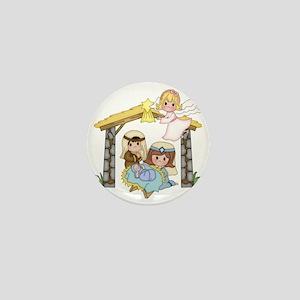Childrens Nativity Mini Button