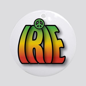 IRIE PEACE Round Ornament