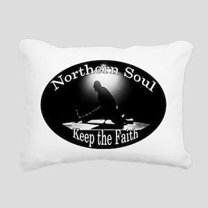 Northern Soul Rectangular Canvas Pillow