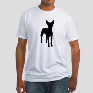 xoloitzcuintli dog Fitted T-Shirt