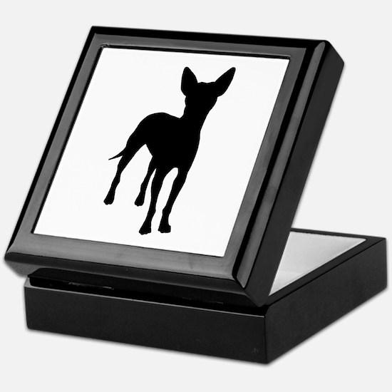 xoloitzcuintli dog Keepsake Box