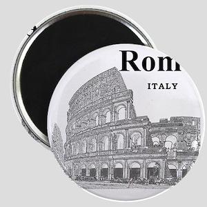 Rome_12X12_v2_Black_Colosseum Magnet